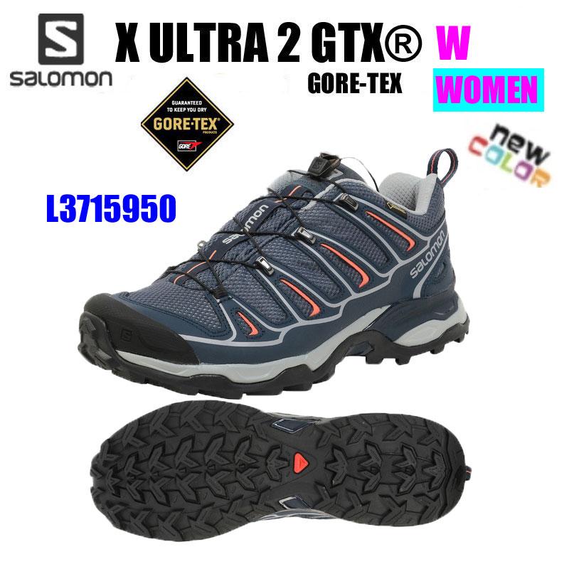 【送料無料】SALOMON サロモンXULTRA2GTXWX ウルトラ 2 ゴアテックス WL37159500レディース