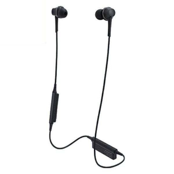 \ポイント5倍/『送料無料』オーディオテクニカ Bluetooth ワイヤレスヘッドホン aptx/AAC対応 グラファイトブラック ATH-CKR75BTBK