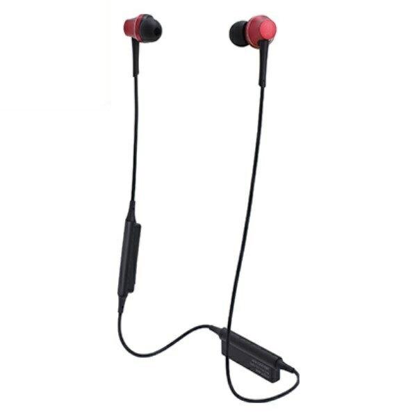 \ポイント5倍/『送料無料』オーディオテクニカ Bluetooth ワイヤレスヘッドホン aptx/AAC対応 ブリリアントレッド ATH-CKR75BTRD