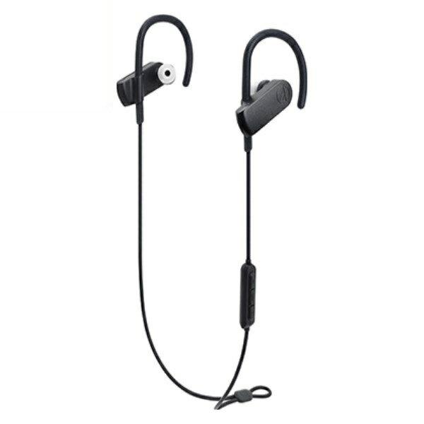 『送料無料』オーディオテクニカ Bluetooth スポーツワイヤレスヘッドホン SONIC SPORT ブラック ATH-SPORT70BTBK