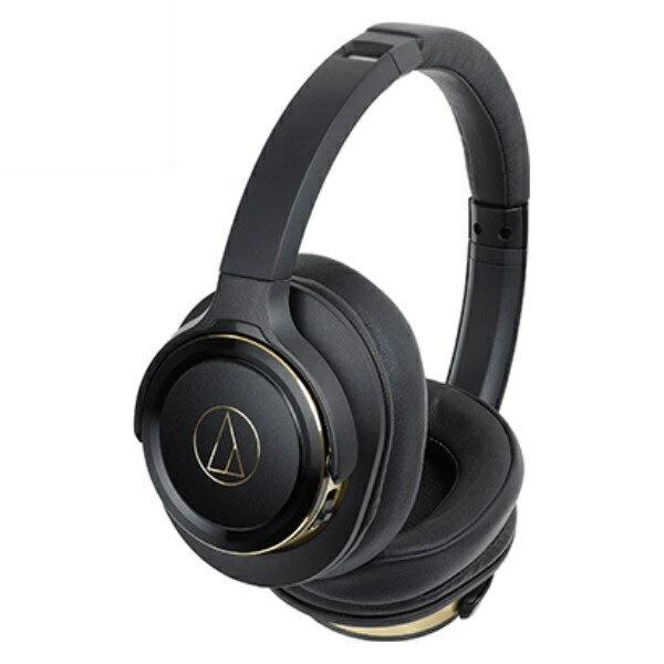 \ポイント5倍/『送料無料』オーディオテクニカ Bluetooth ワイヤレスヘッドホン SOLID BASS ブラックゴールド ATH-WS660BTBGD