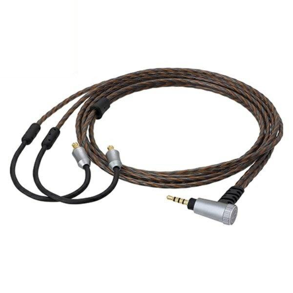 『送料無料』オーディオテクニカ ヘッドホン用着脱ケーブル インナーイヤー用HDCケーブル Y型 1.2m φ2.5mm 4極ミニプラグ HDC312A/1.2