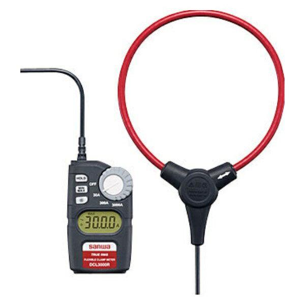 最大ポイント4倍!『送料無料』三和電気計器/SANWA ACクランプメータ CATIV対応 DCL-3000R