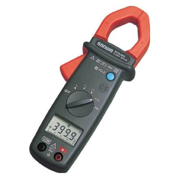三和電気計器/SANWA ACクランプメータ DMM機能付 DCM-400