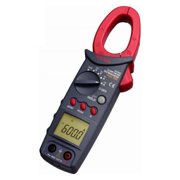 \ポイント5倍/『送料無料』三和電気計器/SANWA DC/AC両用クランプメータ 真の実効値測定 DCM-600DR