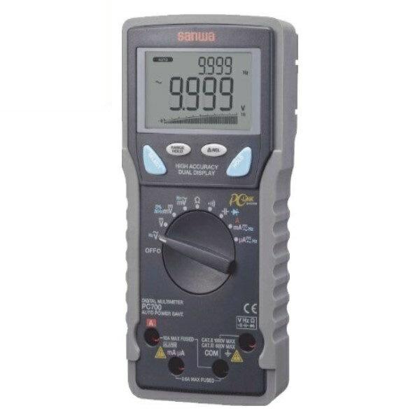 『送料無料』三和電気計器/SANWA デジタルマルチメータ 高確度/高分解能/パソコン接続 PC-700