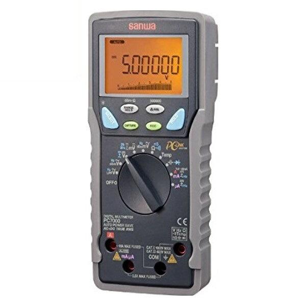 『送料無料』三和電気計器/SANWA デジタルマルチメータ 高確度/高分解能/パソコン接続 PC-7000