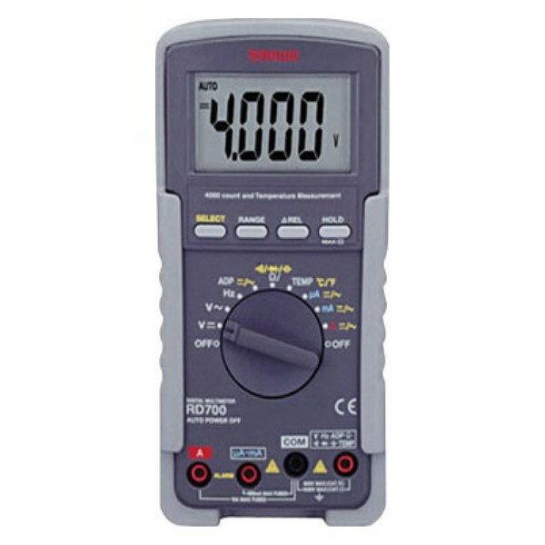 『送料無料』三和電気計器/SANWA 多機能デジタルマルチメータ RD-700