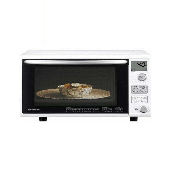 『送料無料』シャープ オーブンレンジ 20L 1段調理 ホワイト RE-V70A