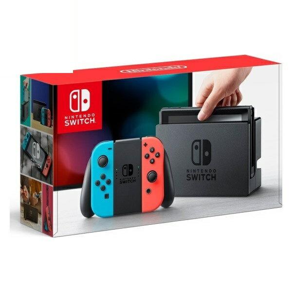 \エントリーでポイント7倍/『送料無料』任天堂 Nintendo Switch/ニンテンドースイッチ Joy-Con ネオンブルー/ネオンレッド 新品 HAC-S-KABAA 『お一人様一台限り』