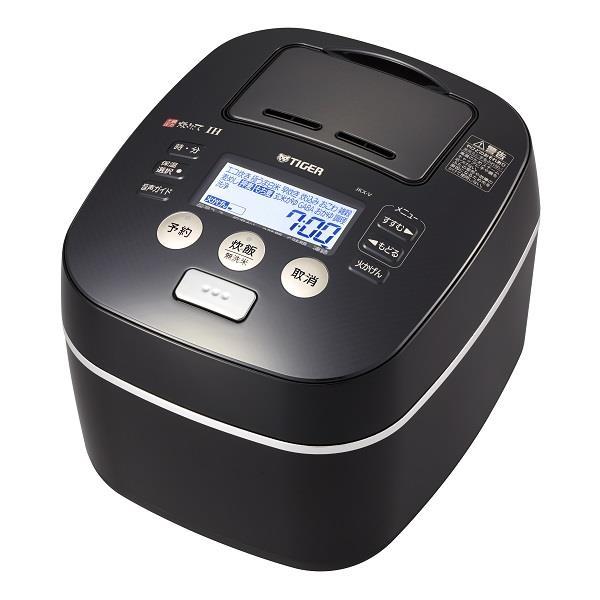 『送料無料』タイガー 土鍋圧力IH炊飯ジャー 炊きたて 5.5合炊き ブラック JKX-V102-K