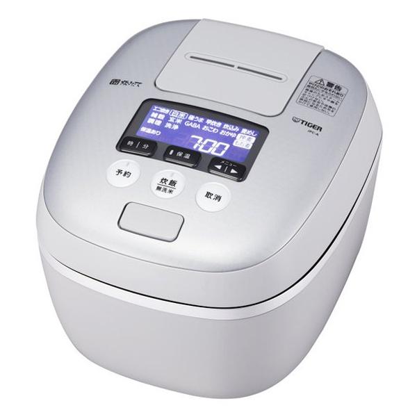 \カードでポイント9倍/『送料無料』タイガー 圧力IH炊飯ジャー 炊きたて 1升炊き ホワイトグレー JPC-A181-WH