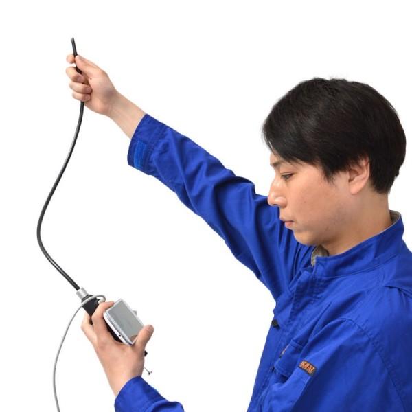 \ポイント5倍/『送料無料』サンコー 先端可動式USB工業用内視鏡 PC/スマホ/タブレット対応 WOSCRADJ