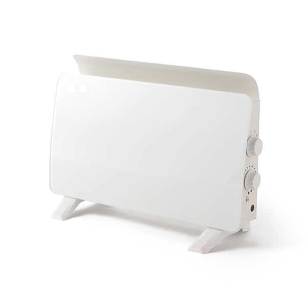 \エントリ&カードポイント14倍/『送料無料』ROOMMATE クリスタルパネルヒーター スタイリッシュヒーター ホワイト RM-58A おしゃれ シンプル ヒーター 暖房