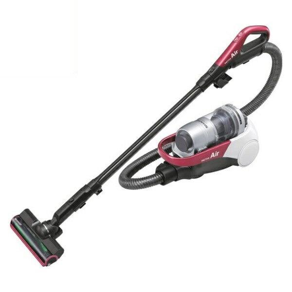 『送料無料』シャープ コードレスキャニスター サイクロン掃除機 ピンク EC-AS500-P