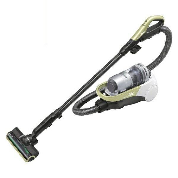 『送料無料』シャープ コードレスキャニスター サイクロン掃除機 イエロー EC-AS500-Y