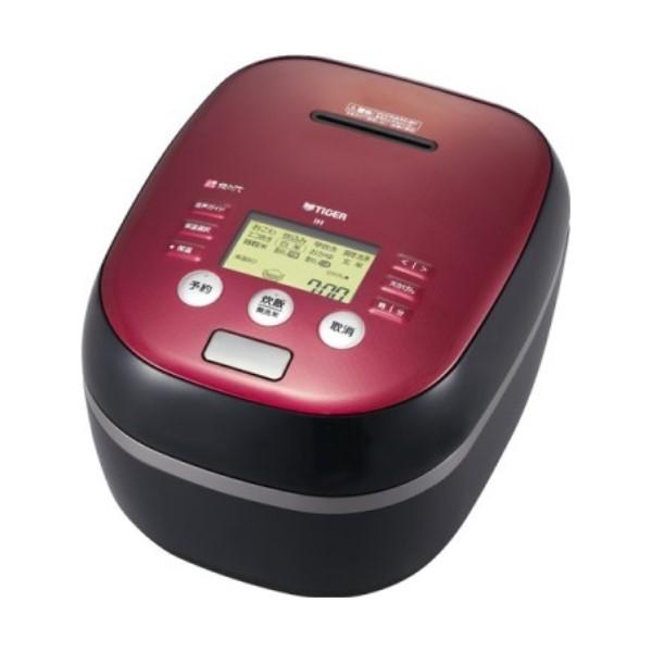 『送料無料』タイガー 土鍋圧力IH炊飯ジャー 炊きたて 5.5合炊き ボルドーブラック JPH-B101-KB コンパクト IH炊飯器