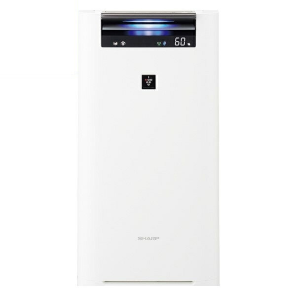 『送料無料』シャープ プラズマクラスター加湿空気清浄機 プラズマクラスター25000 13畳 ホワイト KI-HS50-W