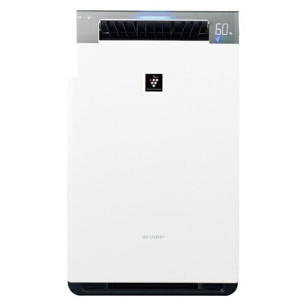 『送料無料』シャープ プラズマクラスター加湿空気清浄機 プラズマクラスター25000 21畳 ホワイト KI-HX75-W