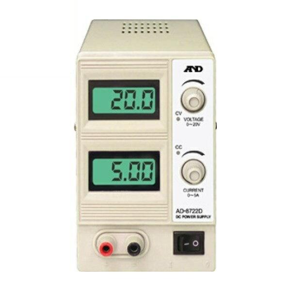 \ポイント5倍/『送料無料』エー・アンド・デイ 直流安定化電源 AD-8722D 測定 計測器具 A&D