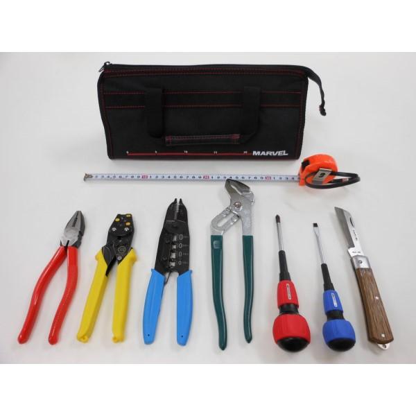 『送料無料』PS-25 マーベル基本セット+ホーザン P-958 オリジナル工具セット プロサポート PSC-00055 電気工事士 工具セット 技能試験セット
