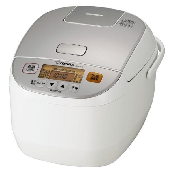 \ポイント5倍/『送料無料』象印 マイコン炊飯ジャー 極め炊き 1升炊き ホワイト NL-DS18-WA