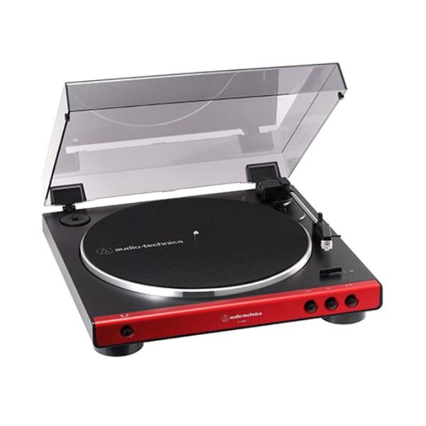 『送料無料』オーディオテクニカ フルオートターンテーブル レッド AT-LP60XRD レコードプレーヤー おすすめ