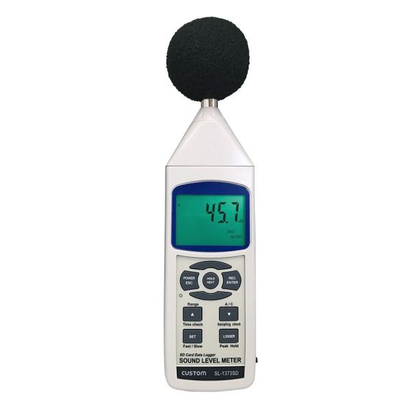 『送料無料』カスタム データロガー騒音計 SDカード対応 30~130dB SL-1373SD