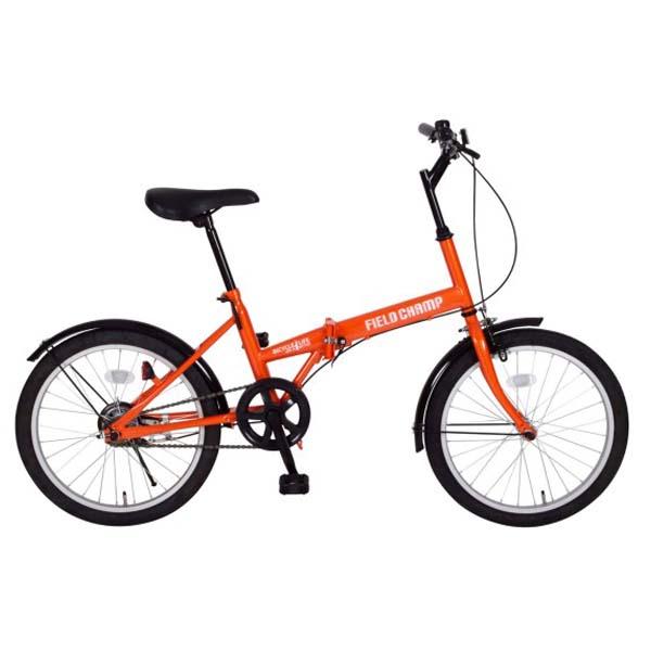 『送料無料』FIELD CHAMP 折りたたみ自転車 20インチ FDB20 MG-FCP20 『メーカー直送・代金引換不可・キャンセル不可』