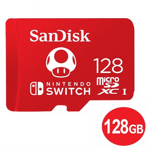 割引も実施中 年中無休 あす楽対応 メール便送料無料 サンディスク microSDXCカード 128GB for Nintendo 信頼 Switch microSDカード SDSQXAO-128G-GNCZN マイクロSD 海外リテール s スイッチ推奨 SanDisk 100MB