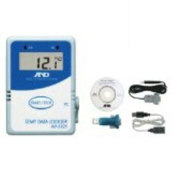 \Wエントリー&カードポイント17倍/(5%還元含)『送料無料』エー・アンド・デイ 温度データーロガー 8000メモリー対応 通信セット AD-5325SET 測定 計測器具 A&D