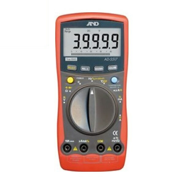 『送料無料』エー・アンド・デイ デジタルマルチメーター AD-5517 測定 計測器具 A&D