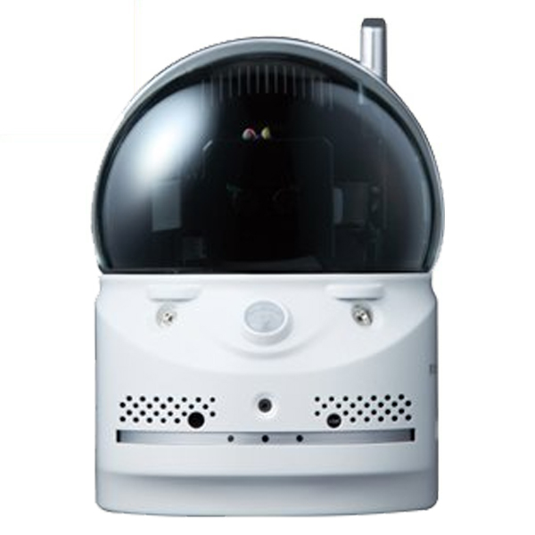 \ポイント5倍/『送料無料』ソリッドカメラ ワイヤレスセキュリティカメラ 100万画素 オールインワンIPカメラ Viewla IPC-07w Wi-Fi ハイビジョン 防犯カメラ ネットワークカメラ 防犯 防災用品