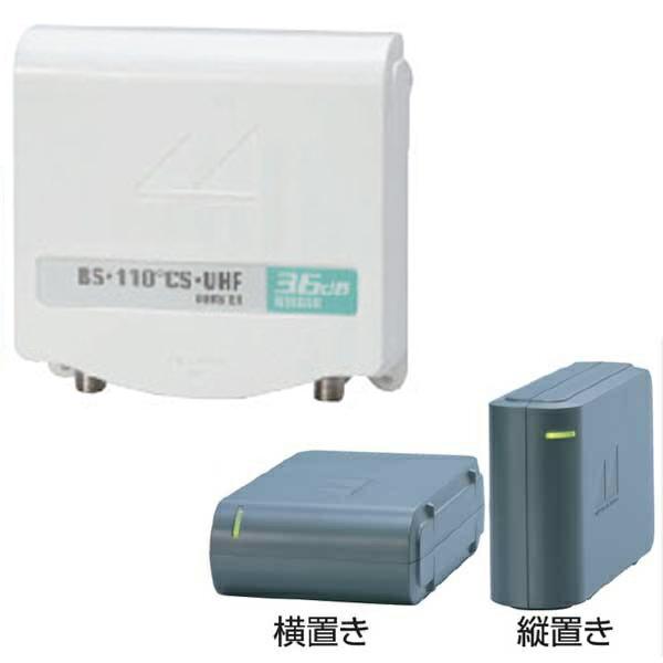 \ポイント5倍/『送料無料』日本アンテナ UHF・BS・CS用電源分離型ブースター N36GSU