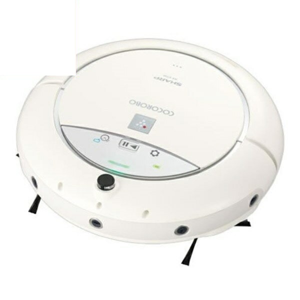 \エントリーでポイント3倍/『送料無料』シャープ ロボット家電 COCOROBO スタンダードモデル RX-V70A-W