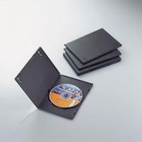 エレコム 価格 CCD-DVDS02BK ブラック 1枚収納 上質 スリムトールケース