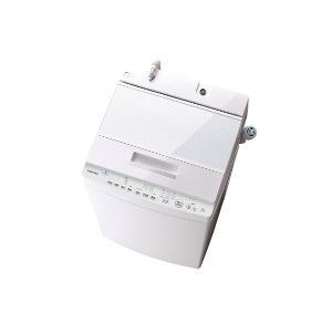 【設置+リサイクル(別途料金)】東芝 AW-8D8-W(グランホワイト) ZABOON 全自動洗濯機 上開き 洗濯8kg