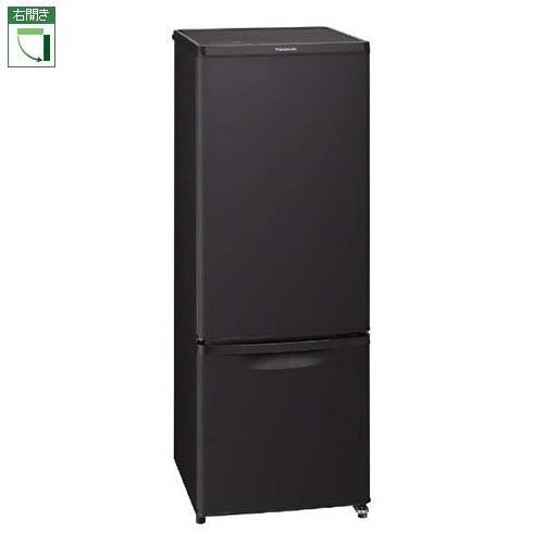 【設置】パナソニック NR-B17CW-T(マットビターブラウン) 2ドア冷蔵庫 右開き 168L