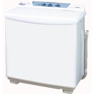 【設置】日立 PS-80S-W(ホワイト) 二槽式洗濯機 洗濯8.0kg/脱水8.0kg