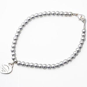 Tiffany&Co. 23984024 リターントゥティファニー ミニハートタグ ビーズブレスレット シルバー