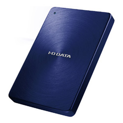 IODATA HDPX-UTA2.0B(ブルー) ポータブルHDD 2TB USB3.0接続