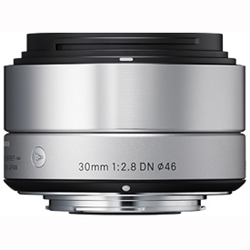 シグマ 30mm F2.8 DN(シルバー) マイクロフォーサーズ用
