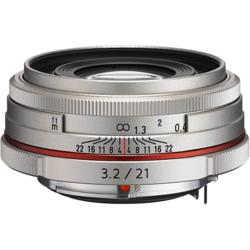 【長期保証付】ペンタックス HD PENTAX-DA 21mmF3.2AL Limited(シルバー)
