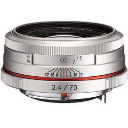 【長期保証付】ペンタックス HD PENTAX-DA 70mmF2.4 Limited(シルバー)