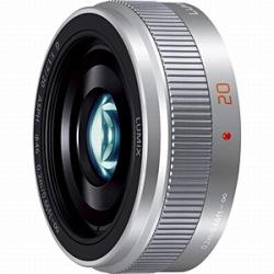 パナソニック LUMIX G 20mm/F1.7 II ASPH.(シルバー)