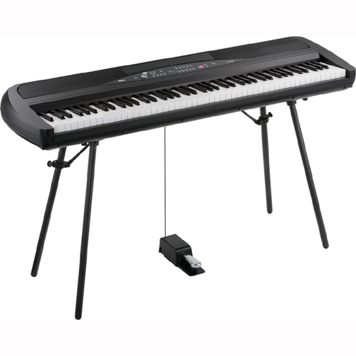 【長期保証付】KORG SP-280-BK(ブラック) 電子ピアノ 88鍵盤