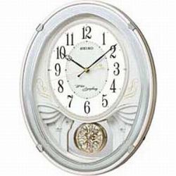 セイコー AM258W 電波掛け時計