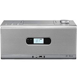 【長期保証付】JVC RD-W1-S(シルバー) CDポータブルシステム