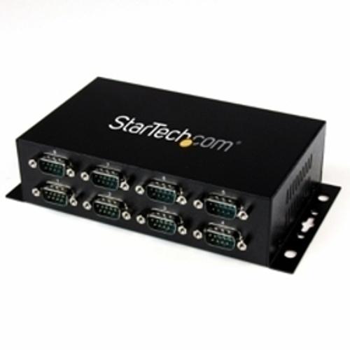StarTech ICUSB2328I(ブラック) RS232C変換ハブ 8ポート