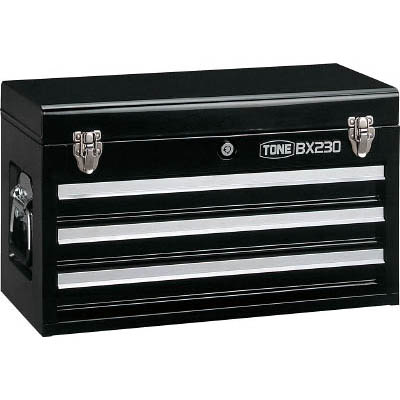 TONE BX230BK ツールチェスト 508X232X302mm ブラック